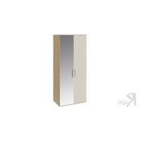 Шкаф для одежды с 1 глухой и 1 зеркальной дверями Николь СМ-295.07.005 L