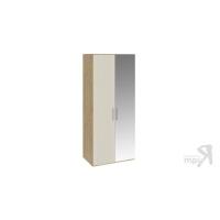 Шкаф для одежды с 1 глухой и 1 зеркальной дверями Николь СМ-295.07.005 R