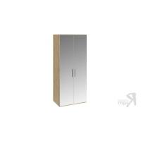 Шкаф для одежды с 2-мя зеркальными дверями Николь СМ-295.07.004