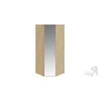 Шкаф угловой с зеркальной дверью левый Николь СМ-295.07.007 L