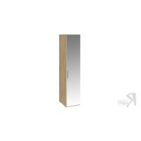 Шкаф для белья с 1 зеркальной дверью правый Николь СМ-295.07.002 R