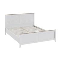 Двуспальная кровать с изножьем Ривьера СМ 241.01.001