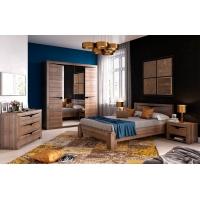 Комплект мебели для спальни  Соренто (Дуб стирлинг)