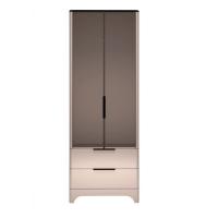 Шкаф для одежды с ящиками и зеркалом 2-х дверный 9 Танго