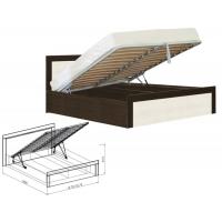 Кровать 1400 с подъемным механизмом Токио (вудлайн)