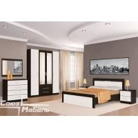 Комплект мебели для спальни №2 Токио (вудлайн)