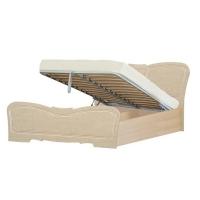 Кровать №1 1600 с подъемным механизмом Верона (жемчуг глянец)