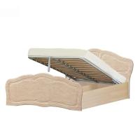 Кровать №2 1600 с подъемным механизмом Верона (жемчуг глянец)