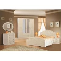 Комплект мебели для спальни №1 Верона (жемчуг глянец)