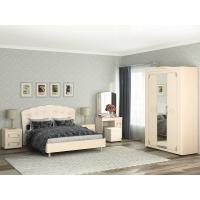 Шкаф трехдверный с зеркалом Версаль 99.12