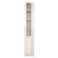 Шкаф-пенал правый со стеклом Виктория модуль 32