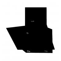 Наклонная кухонная вытяжка TOUCH ECO 600 Black