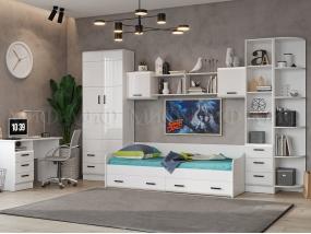 Детская мебель Вега New Белый глянец