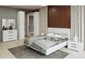 Спальный гарнитур Наоми (белый глянец)