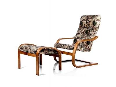 Кресло-качалка Ноттингем с банкеткой