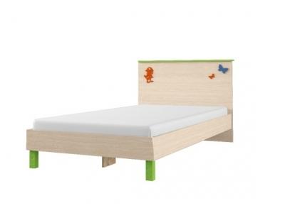 Кровать детская 84.01 + спинка СМ № 5.1