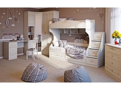 Набор мебели для детской комнаты Лючия ГН-235.102
