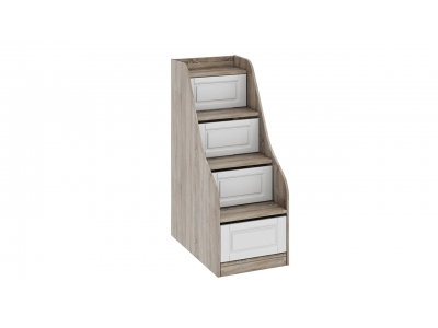 Лестница приставная с ящиками «Прованс» ТД-223.11.12