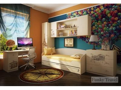 Детская мебель Фанки Тревел (композиция 5)