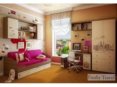 Детская мебель Фанки Тревел (композиция 3)
