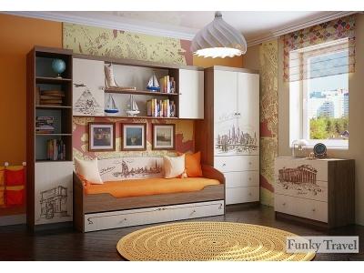 Детская мебель Фанки Тревел (композиция 1)