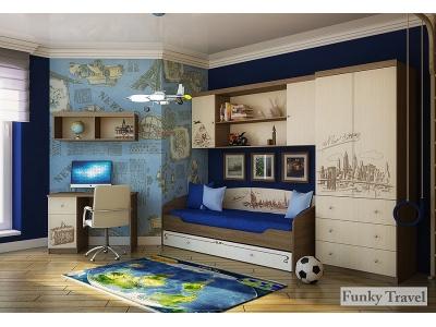 Детская мебель Фанки Тревел (композиция 2)