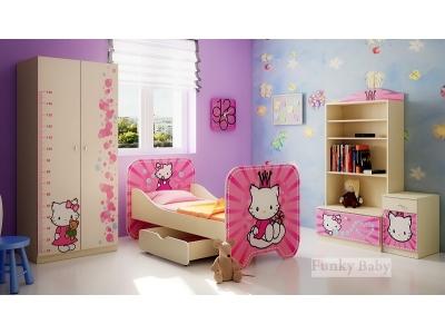 Детская мебель Китти (композиция 2)