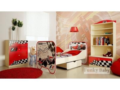 Детская мебель Формула 1 (композиция 1)