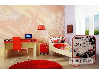 Детская мебель Формула 1 (композиция 3)