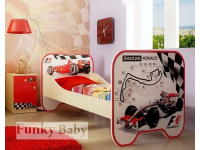 Детская мебель Формула 1 (композиция 4)