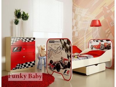 Детская мебель Формула 1 (композиция 6)
