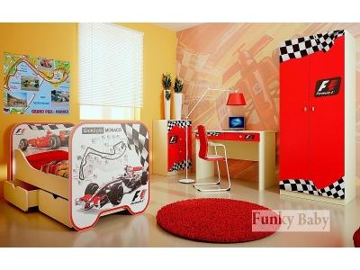 Детская мебель Формула 1 (композиция 7)
