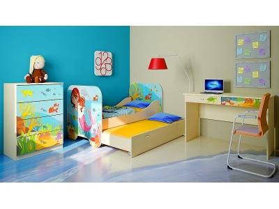 Детская мебель Русалочка (композиция 5)