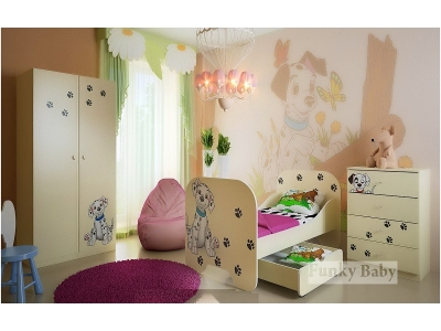 Детская мебель Далматинец (композиция 5)