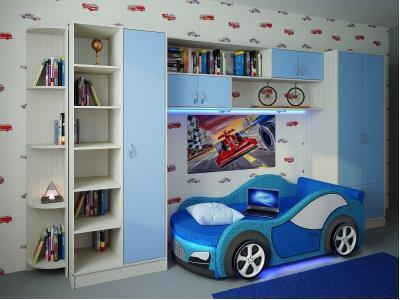 Детская модульная мебель Фанки Кидз (композиция 3)