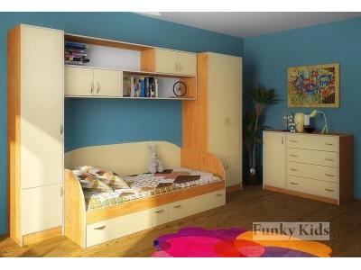 Детская модульная мебель Фанки Кидз (композиция 4)