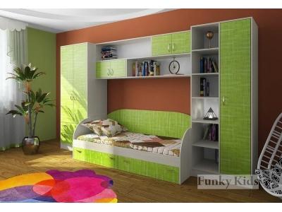 Детская модульная мебель Фанки Кидз (композиция 8)