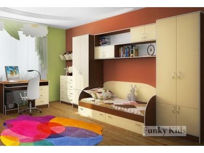 Детская модульная мебель Фанки Кидз (композиция 5)