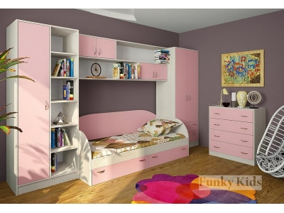 Детская модульная мебель Фанки Кидз (композиция 6)