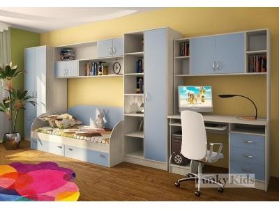 Детская модульная мебель Фанки Кидз (композиция 7)