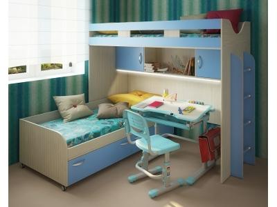 Детская модульная мебель Фанки Кидз 22 (композиция 3)