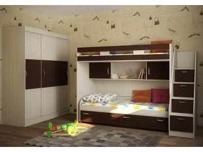 Детская модульная мебель Фанки Кидз 22 (композиция 5)
