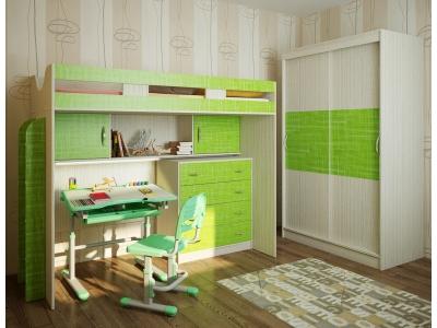 Детская модульная мебель Фанки Кидз 22 (композиция 6)