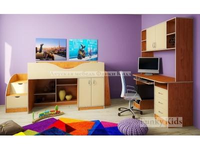 Детская модульная мебель Фанки Кидз 6 (композиция 3)