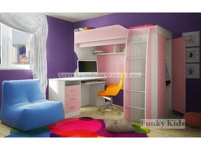 Детская модульная мебель Фанки Кидз 11 (композиция 4)