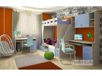 Детская модульная мебель Фанки Кидз 5 (композиция 3)