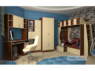 Детская модульная мебель Фанки Кидз 5 (композиция 5)