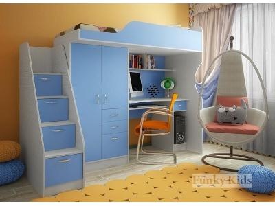 Детская модульная мебель Фанки Кидз 4 (композиция 3)