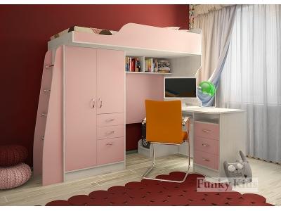 Детская модульная мебель Фанки Кидз 4 (композиция 4)