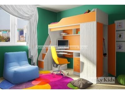 Детская модульная мебель Фанки Кидз 11 (композиция 1)